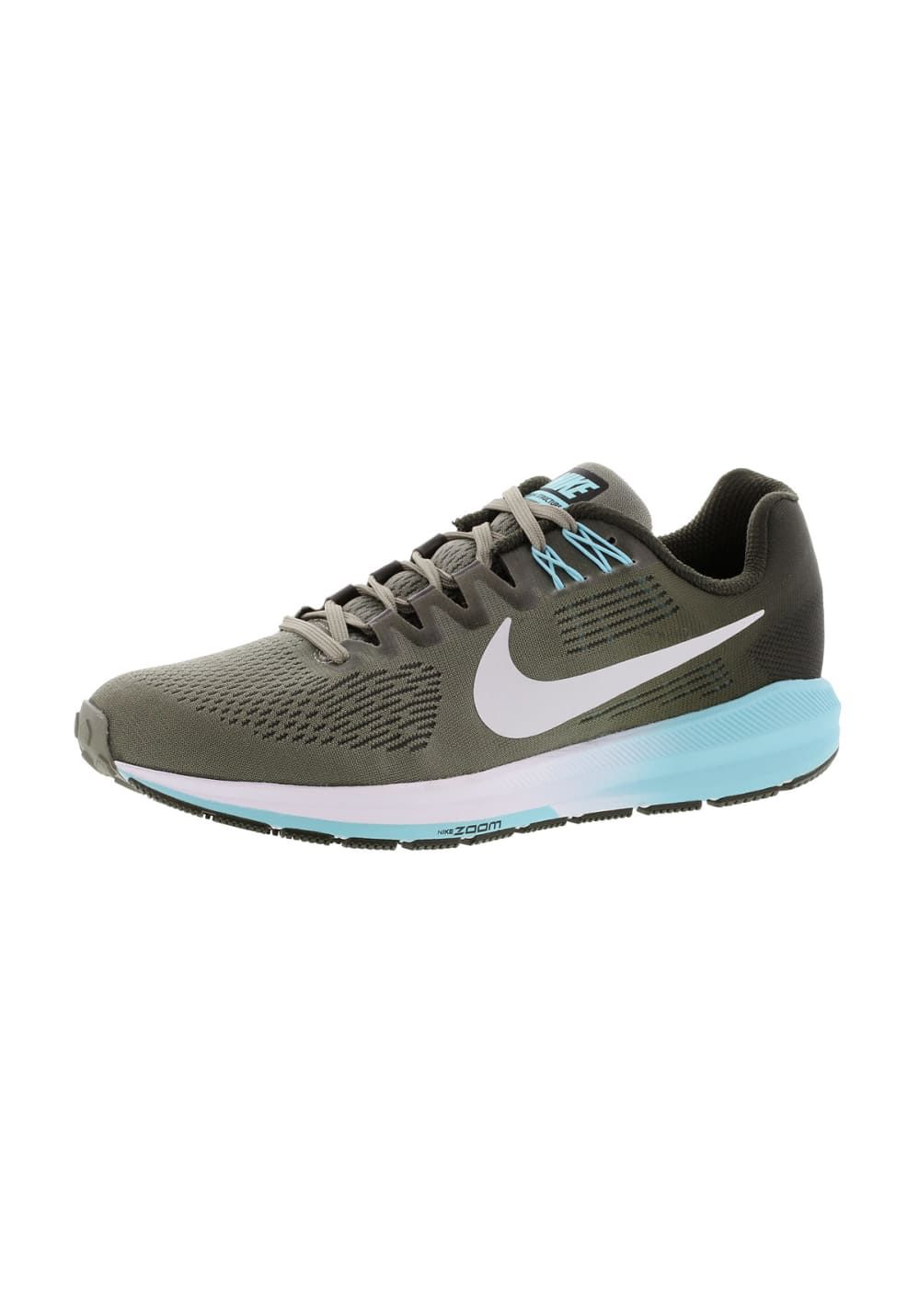 bfb7a257137 Nike Air Zoom Structure 21 - Chaussures running pour Femme - Vert Boutiques