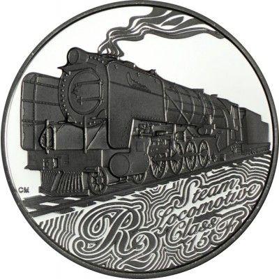 2 Rand Silber Zuge Sudafrikas Dampflokomotiven Klasse 15f Pp Munzsammlung Silber Erste Klasse