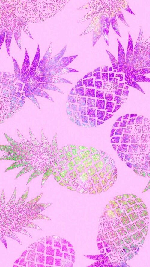 Pretty Pineapple Made By Me Pretty Wallpaper Iphone Pineapple Wallpaper Pretty Wallpapers