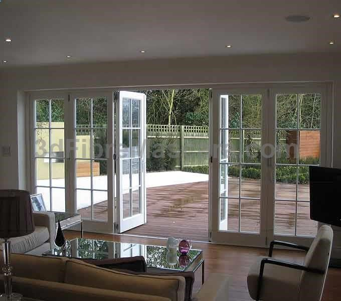 Bifold Doors Which Can Act Like Patio Doors In Case You Only Want To