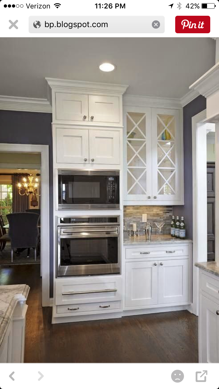Pin By Sandy Goldman On Kitchen Kitchen Design Wall Oven Kitchen Home Kitchens