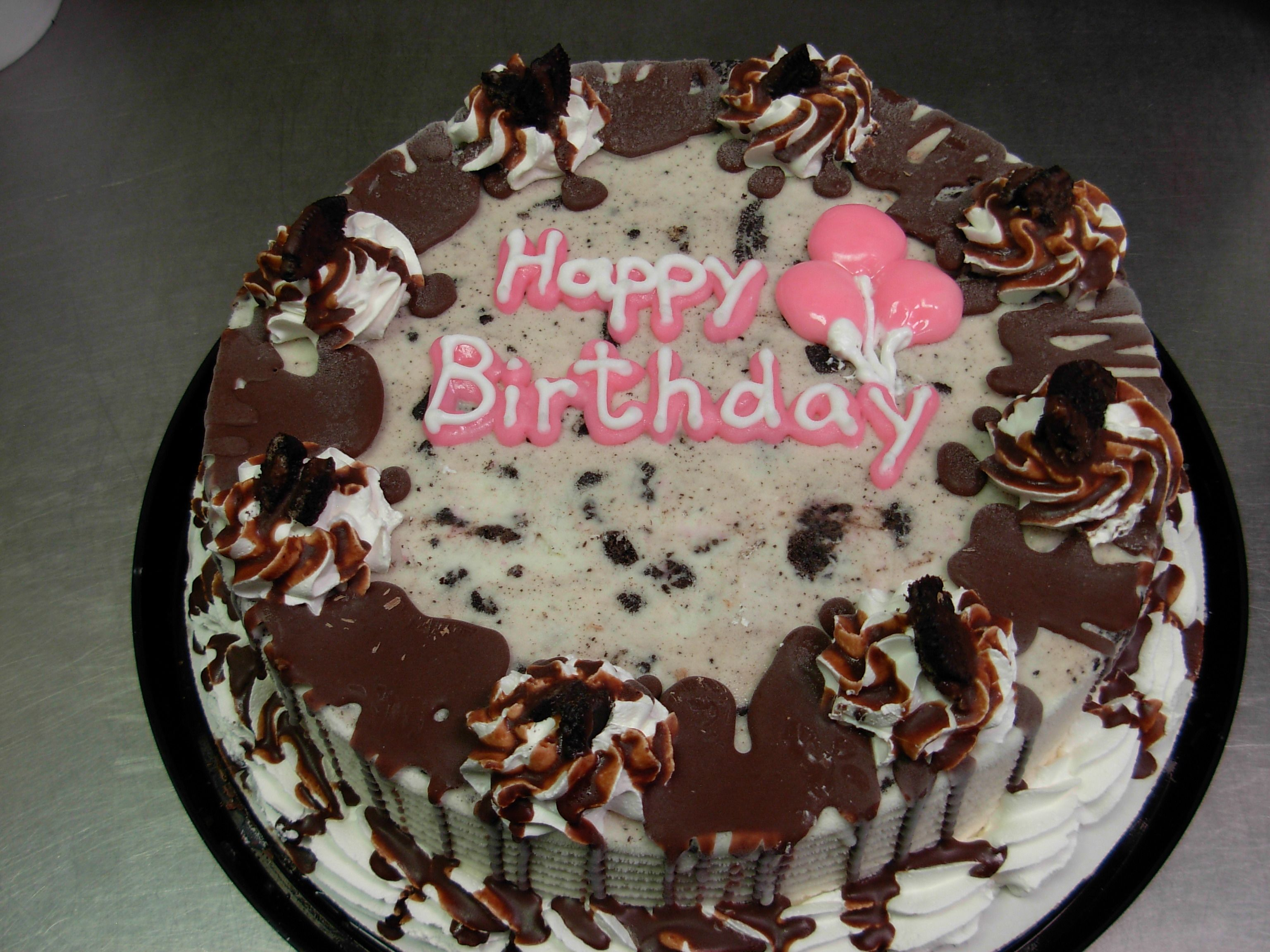 DQ Dairy Queen Decorated Oreo Blizzard Ice Cream Cake The