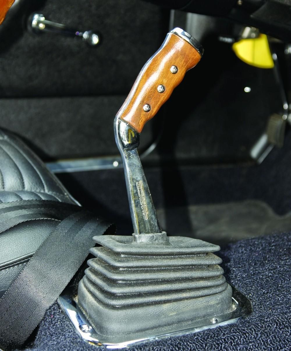 mopars pistol grip shifter from the early 70s passengers
