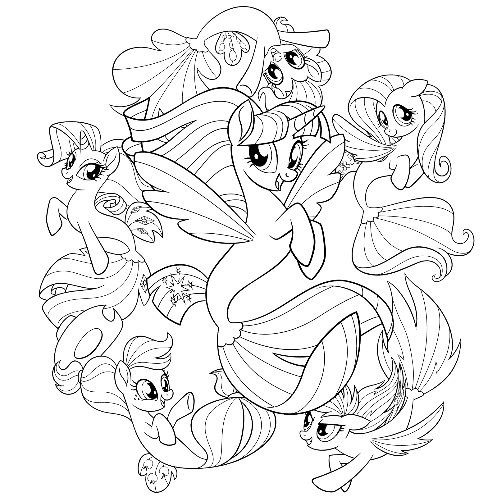 My Little Pony Friendship Is Magic Coloring Pages Best Coloring Pages For Kids My Little Pony Coloring My Little Pony Rarity My Little Pony Drawing