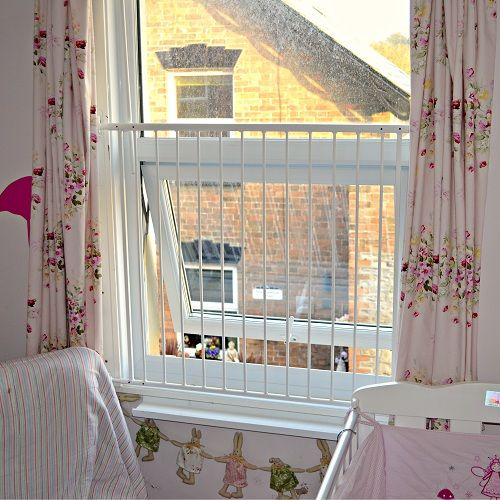 The Removable Child Safety Window Barrier Safetots Co Uk Child Safety Baby Proofing House Roof