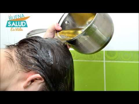 Usos del aceite de oliva para el cabello - YouTube