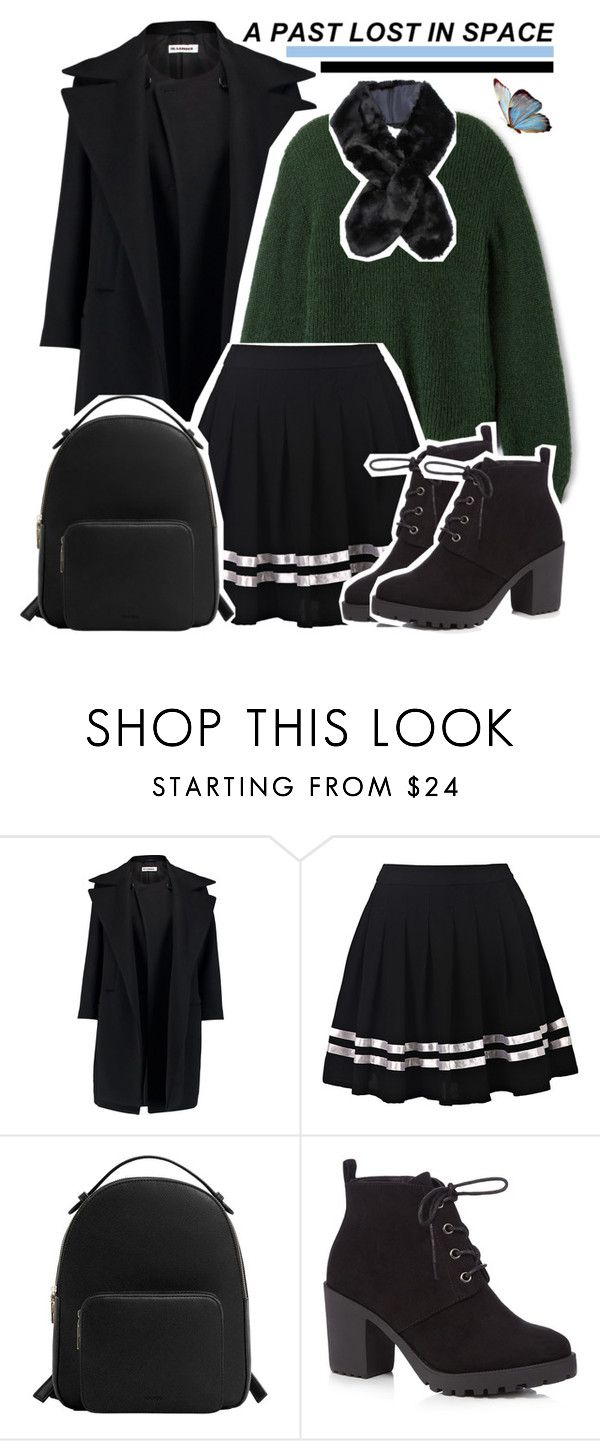 """a past lost in space"" by enola-pycroft on Polyvore featuring Jil Sander, MANGO and Red Herring"