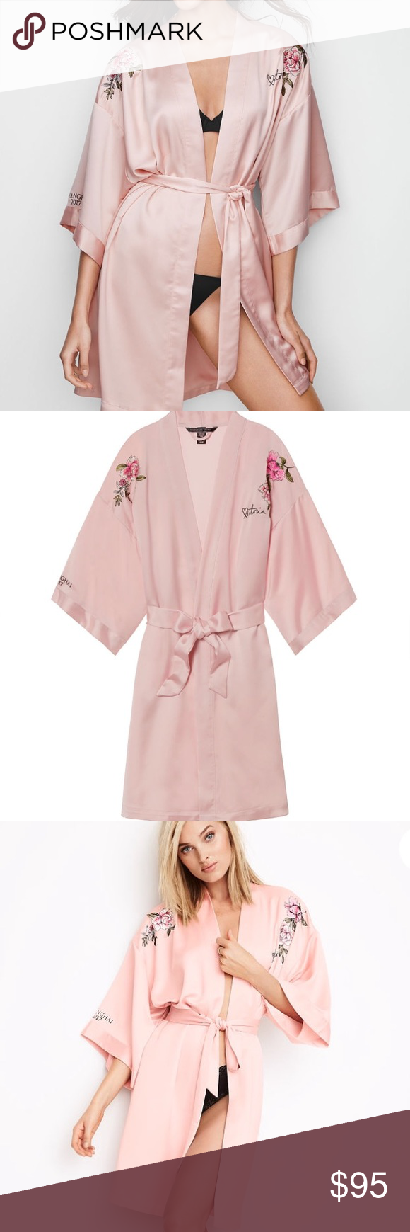 Victoria\'s Secret embroidered fashion show robe 17 NWT | My Posh ...