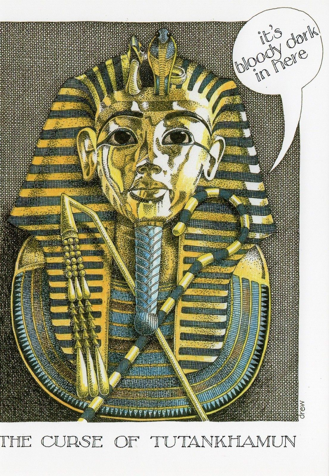 Simon drew funny greetings card curse of tutankhamun ebay tut simon drew funny greetings card curse of tutankhamun ebay kristyandbryce Choice Image