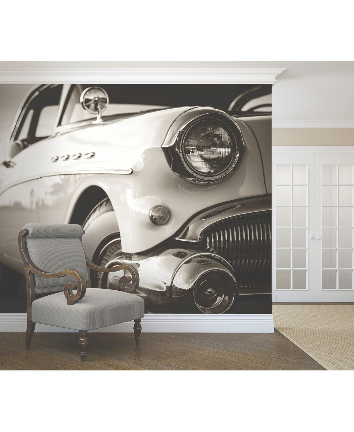 Brewster Home Fashions Classic Car Wall Mural & Reviews – Wallpaper – Home Decor – Macy's