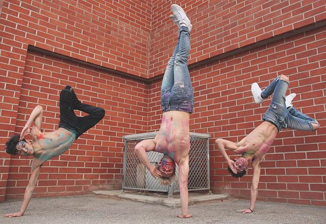dance crew  w/ @jakepaul & @lucas_dobre