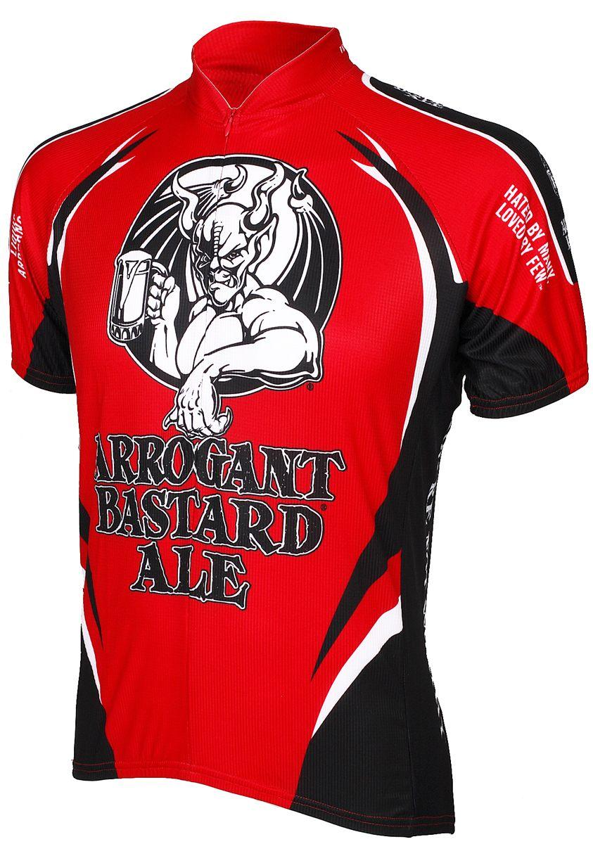 Brand New Team Arrogant Bastard Ale Cycling Jersey,