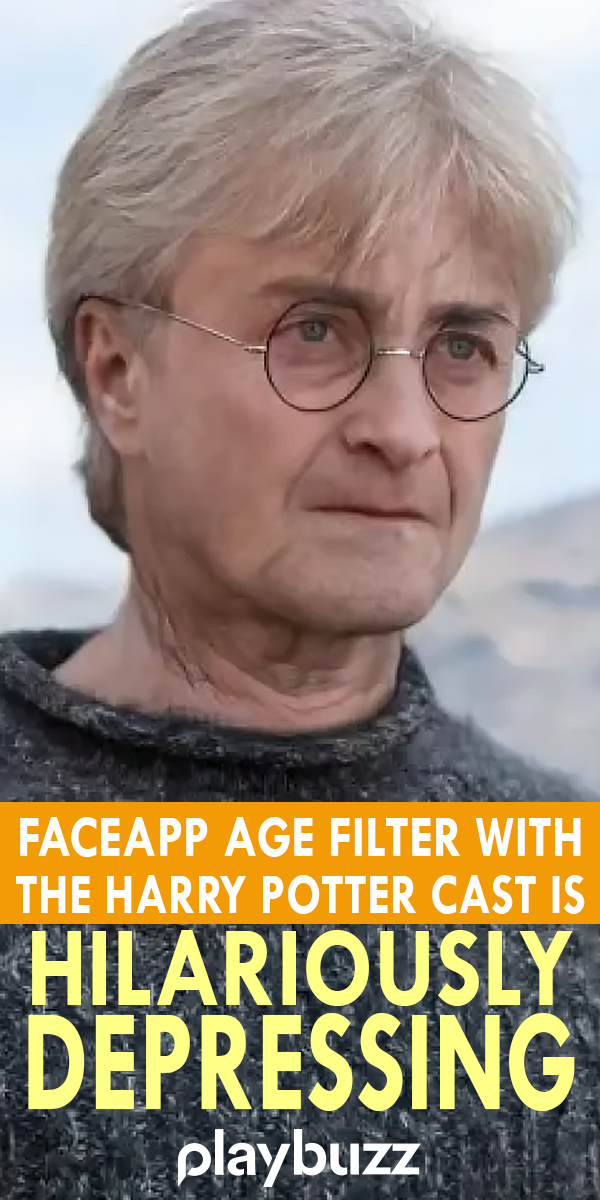 We Put The FaceApp Age Filter On The Harry Potter Cast And