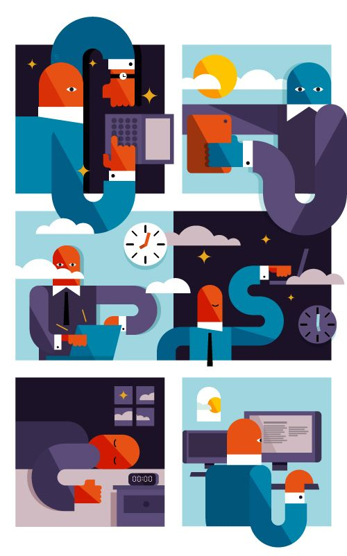 time zone on Behance