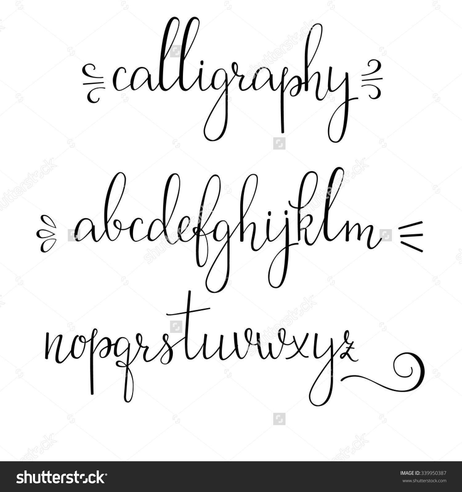 Handwritten Pointed Pen Ink Style Modern Calligraphy Cursive Font Calligraphy Alphabet Modern Calligraphy Alphabet Lettering Alphabet Cursive Fonts Alphabet