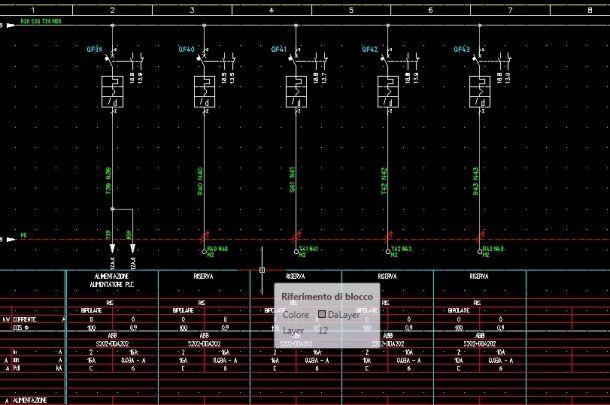Schemi Elettrici Hi Fi : Piccole modifiche disegni con autocad e spac automazione disegno