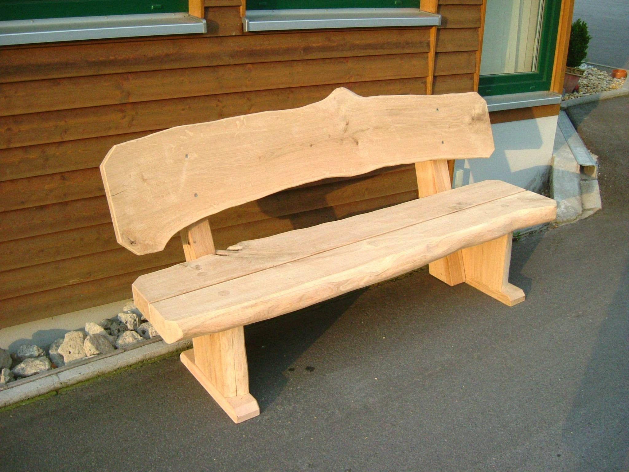 Einzigartig 40 Zum Sitzgruppe Holz Garten Gartenbank Rustikal