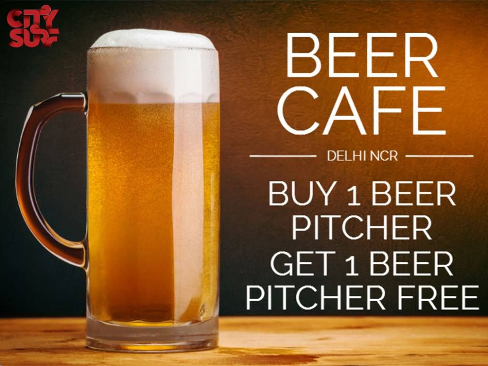 f9085dee2d13 Are you a BEER FAN..  Buy 1 Beer Pitcher   Get 1 Beer Pitcher Free ...