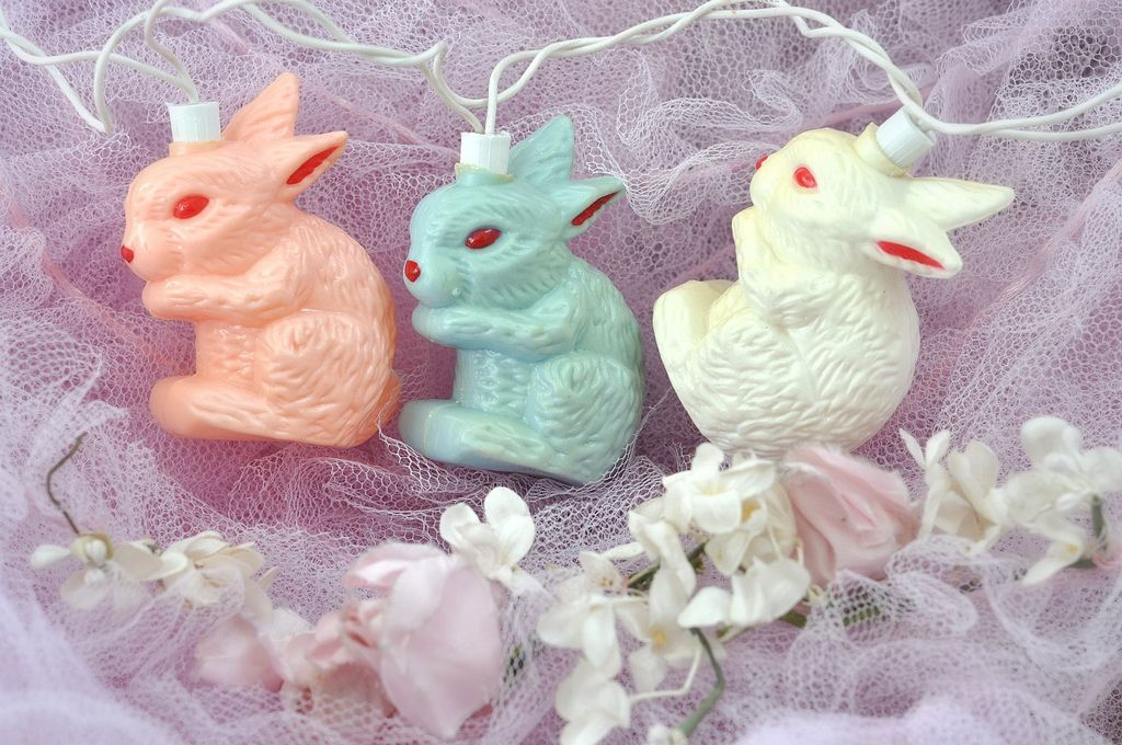 Blow mold bunny lights | Flickr - Photo Sharing!