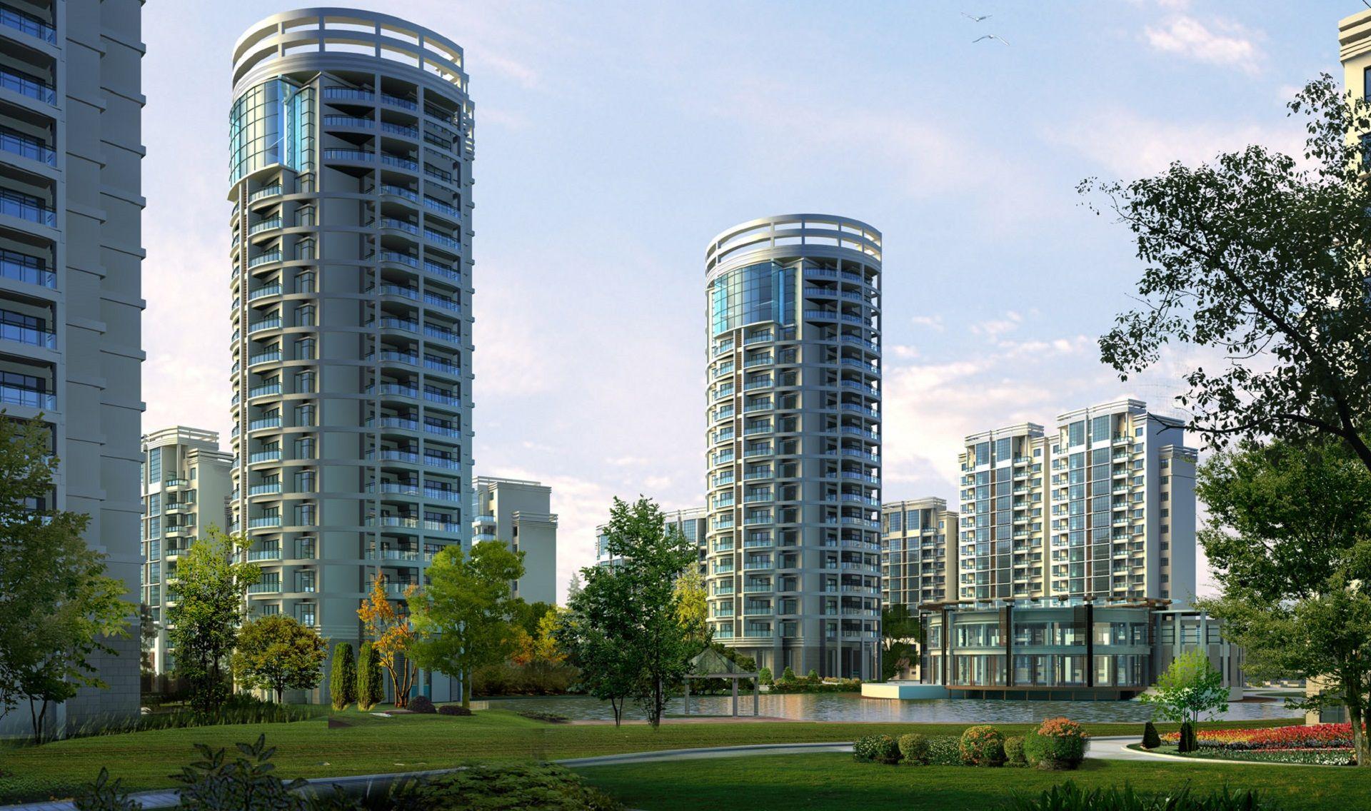 Ext apartment buildings large episodeinteractive