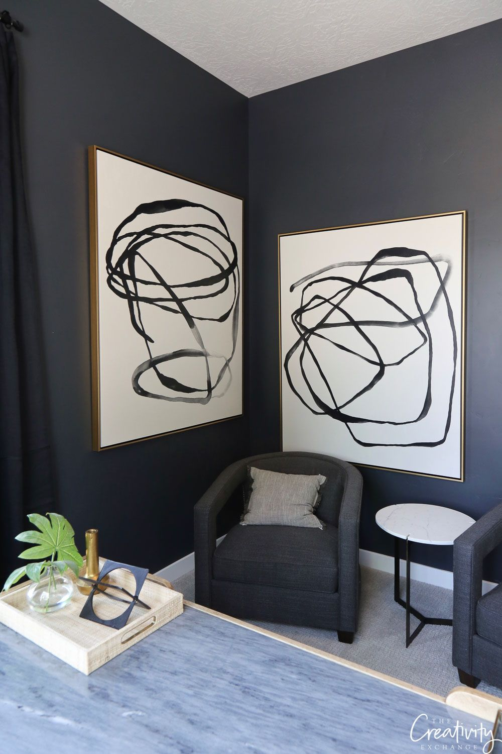 2019 Paint Color Trends And Forecasts Black Painted Walls