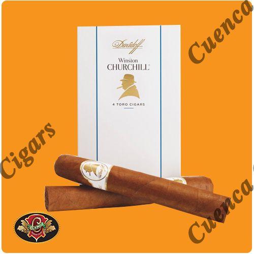 Davidoff Winston Churchill Churchill Cigars - Box of 4 - Price: $70.90