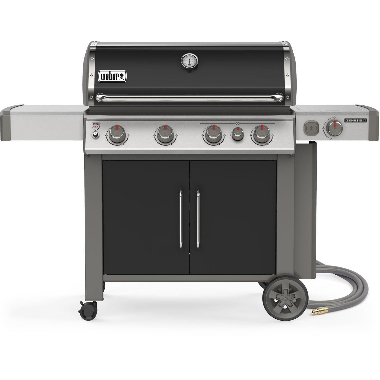 Weber Genesis Ii E 435 Natural Gas Grill Black 67016001 2019 In 2020 Propane Gas Grill Gas Grill Natural Gas Grill