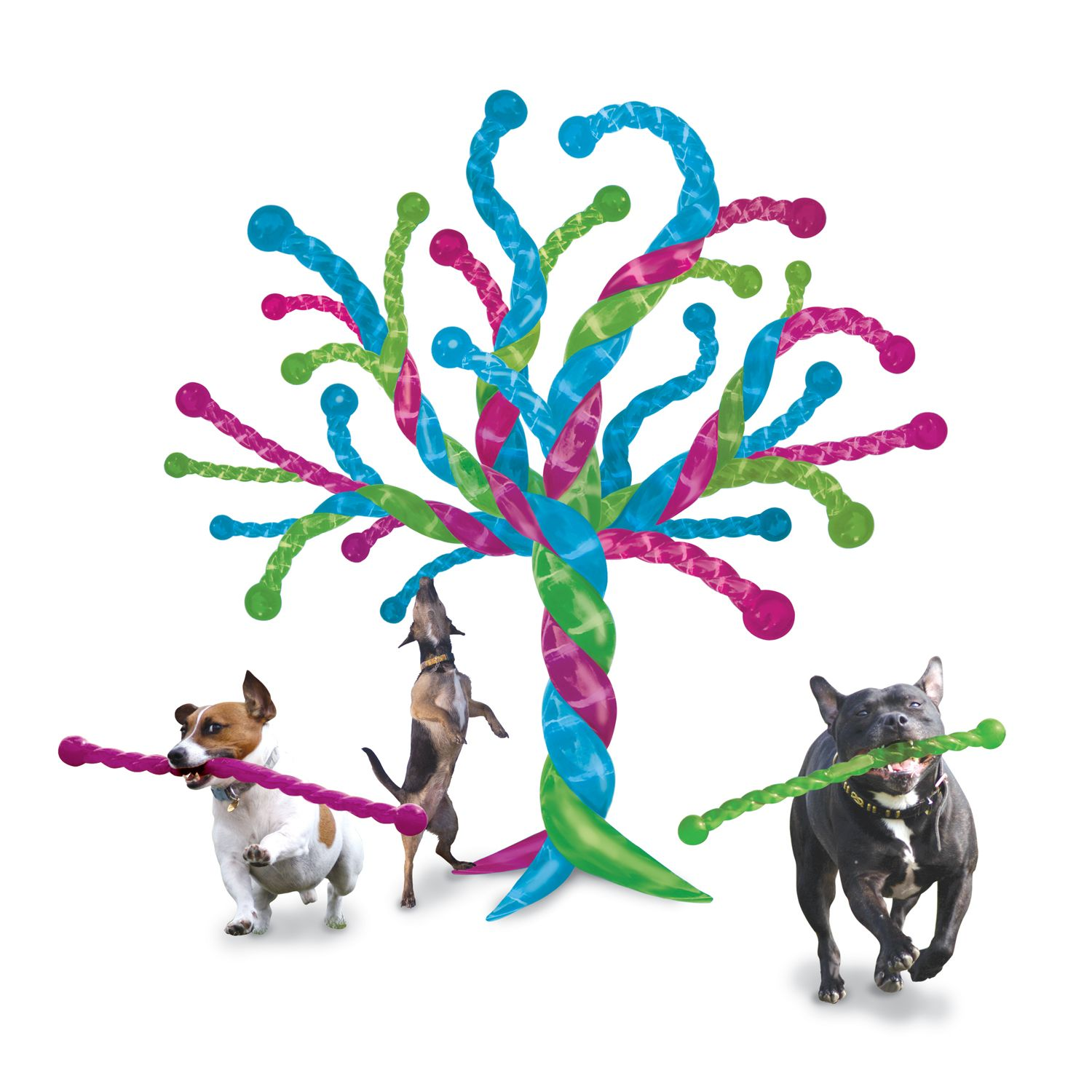 If dog toys started growing on trees #adogsdream