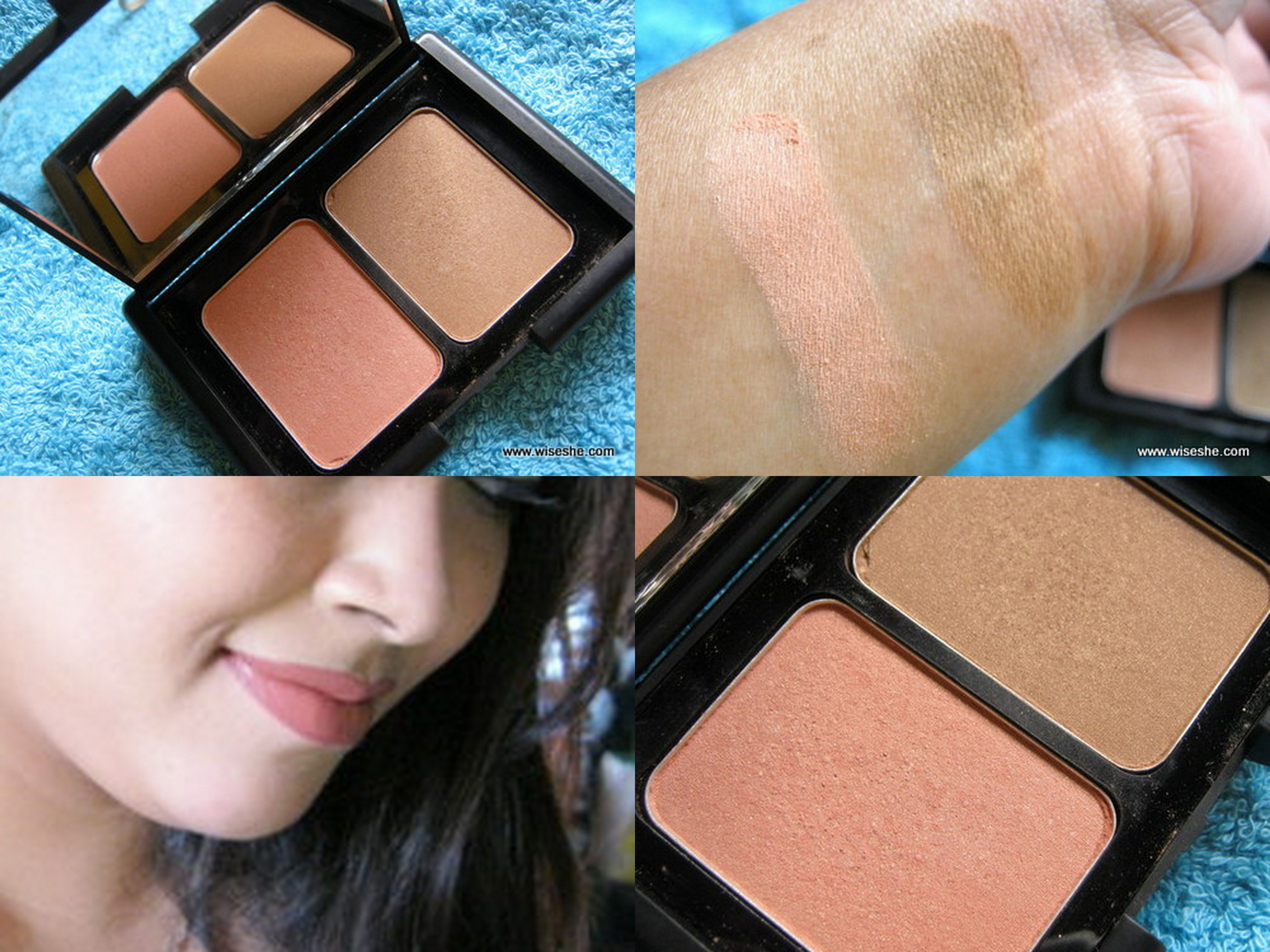 ELF DUO Blusher and Bronzer St. Lucia Review, Swatches