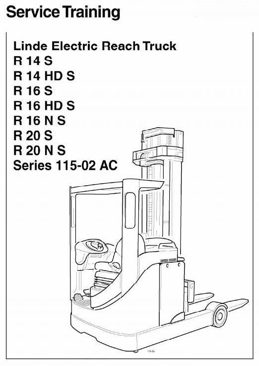 Electric Reach Truck Type  R R R Included Ex Series