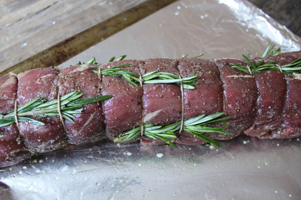 Slow-Roasted Beef Tenderloin with Rosemary - Domesticate ME