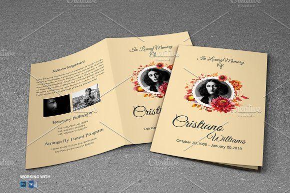 Funeral Program Template @creativework247 Templates - Templates
