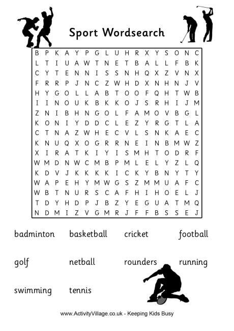uk sports word search classroom ideas word search words sports. Black Bedroom Furniture Sets. Home Design Ideas