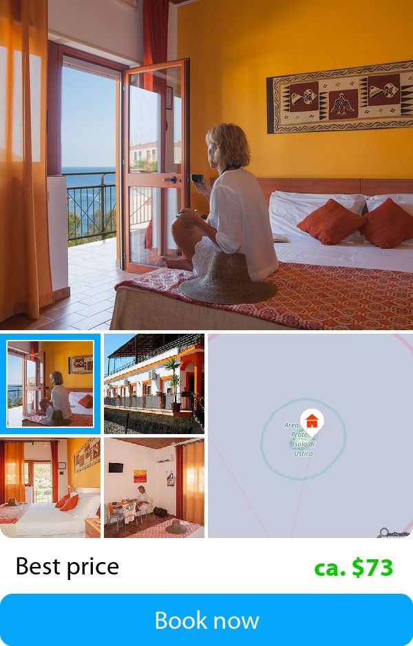 Le Terrazze Residence (Ustica Island, Italy) – Book this hotel at ...