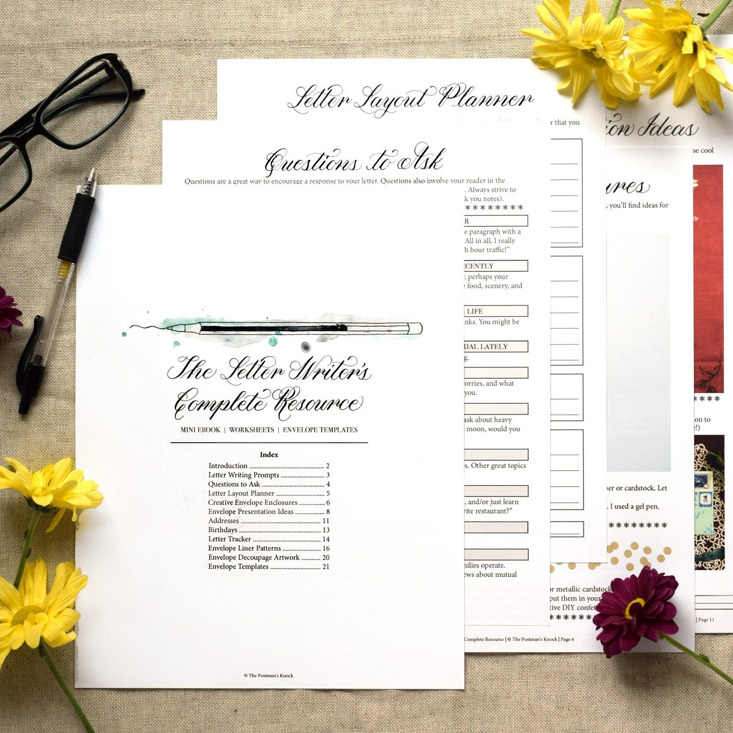 The Letter Writer S Complete Resource