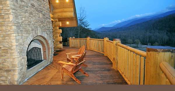 7 Faucet Finishes For Fabulous Bathrooms: Guys, I Want You To Stare At The Photo Of This Cabin Deck