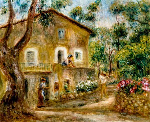 Pierre auguste renoir la maison de collettes cagnes for Renoir maison classique