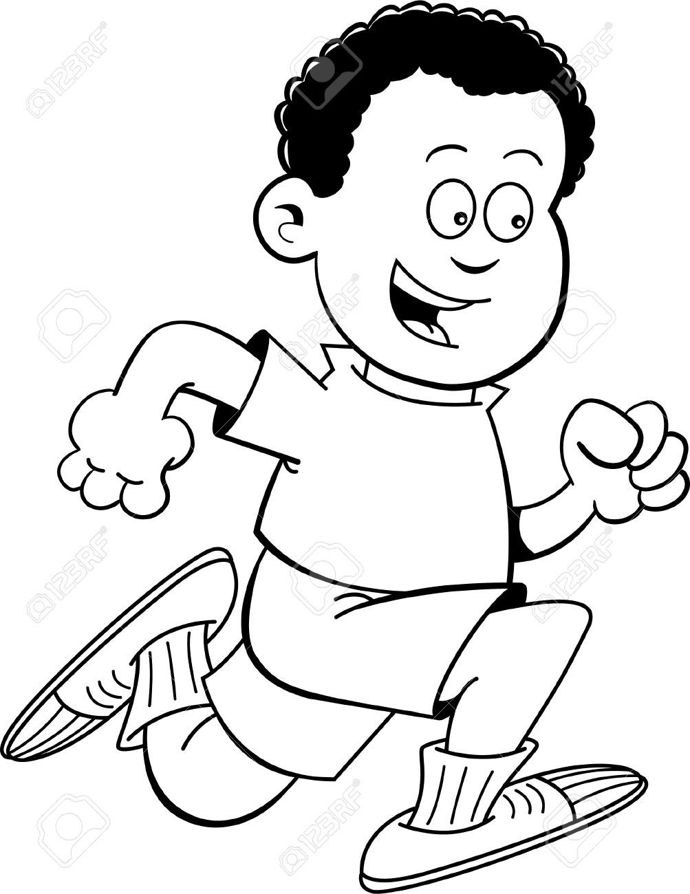Running Clipart Black And White Free Black And White Illustration Clipart Black And White Black And White Pictures