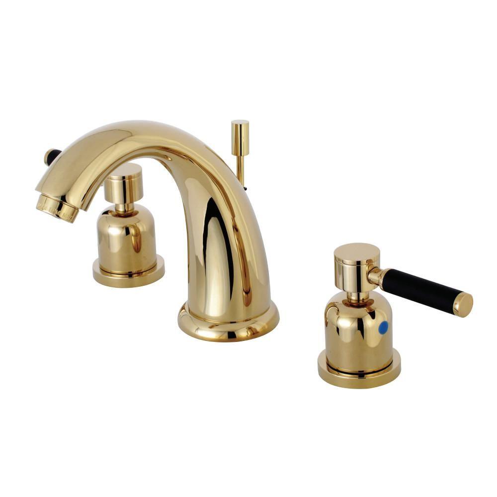 Kingston Brass Kaiser 8 In Widespread 2 Handle Mid Arc Bathroom