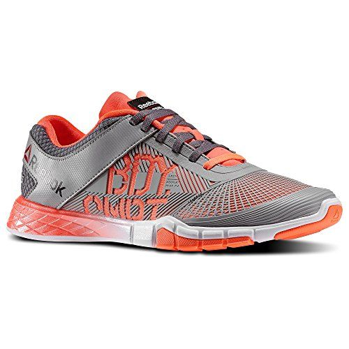 500a66a8108 Reebok Mens Les Mills LM Bodycombat Dance Shoe Grey Orange Black White Size  14 -- Learn more by visiting the image link. (This is an affiliate link)    ...