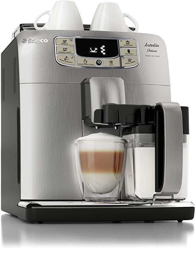 Saeco Intelia Cappuccino Deluxe Automatic Espresso Machine ...