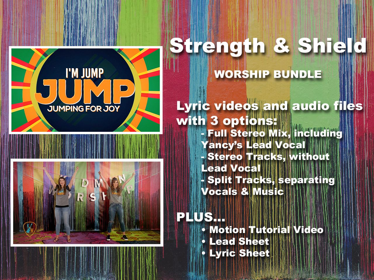 Strength And Shield   Yancy   Song Tracks   WorshipHouse