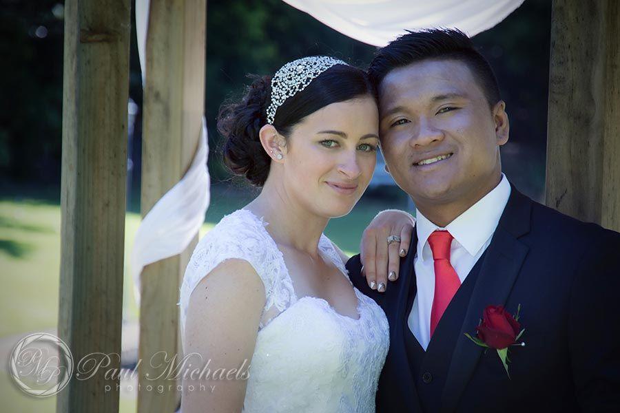 Happy couple.  #wedding #photography. PaulMichaels www.paulmichaels.co.nz photographers