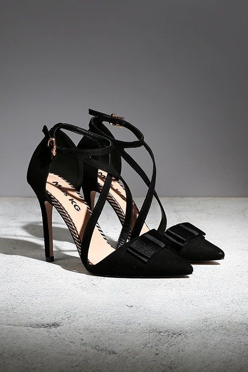 769a0ab1e6 Black High Heel Court Shoes. Miss KG brings you Alisa for the new season,
