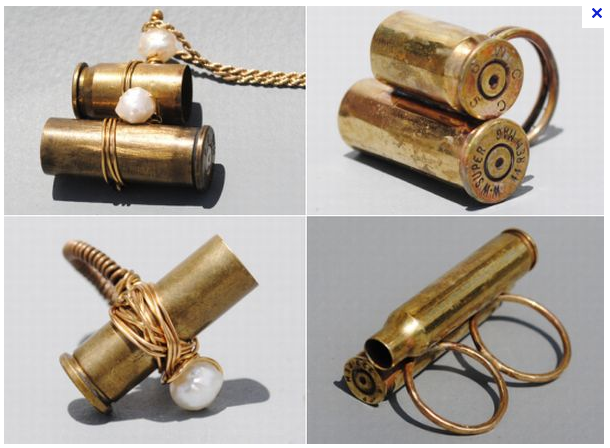 Pin By Antonio Carlos Junior On Treasures Jewels Bullet Casing Jewelry Ammo Jewelry Bullet Shell Jewelry