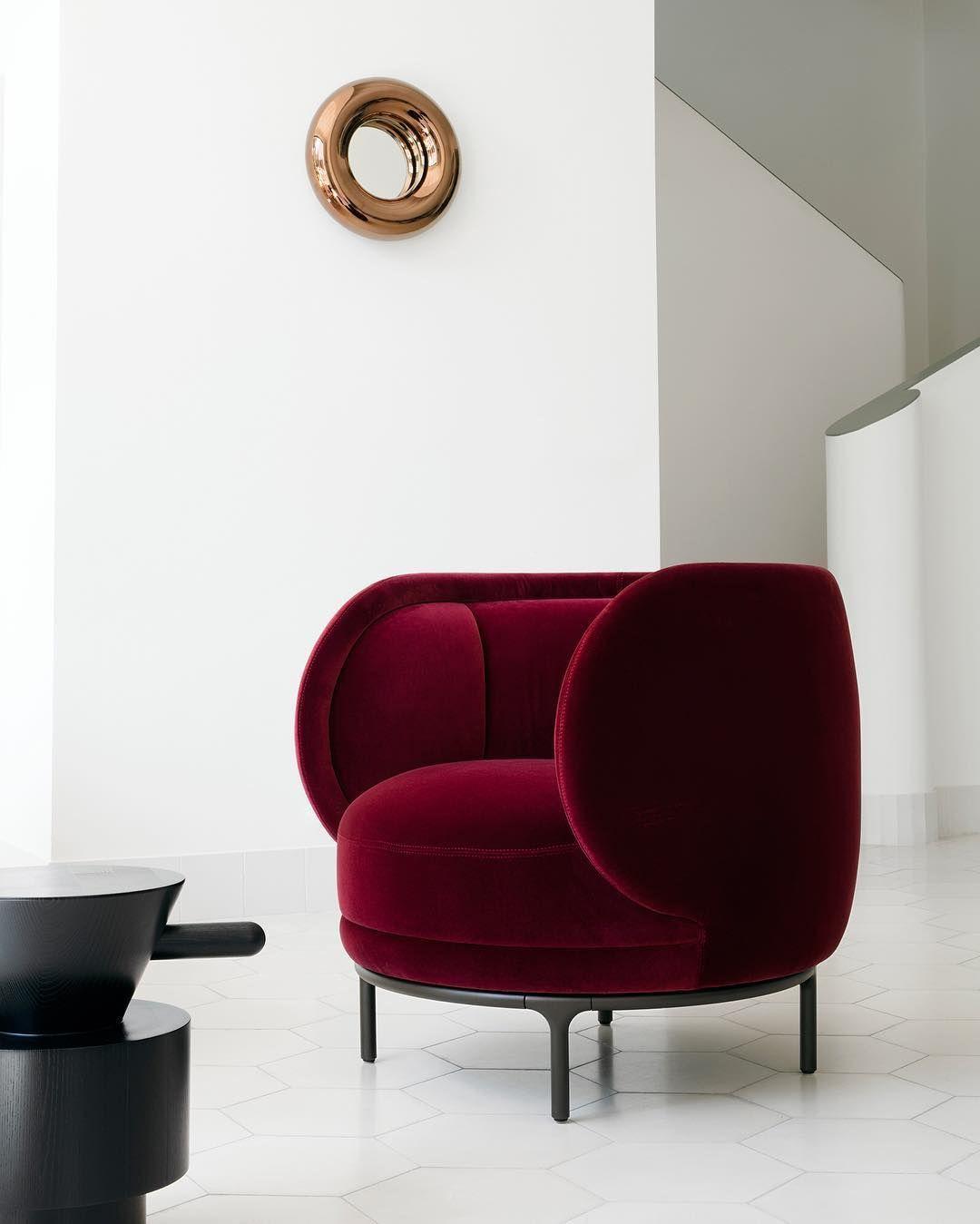 Samt Sessel | Wohndesign | Wohnzimmer Ideen | BRABBU ...