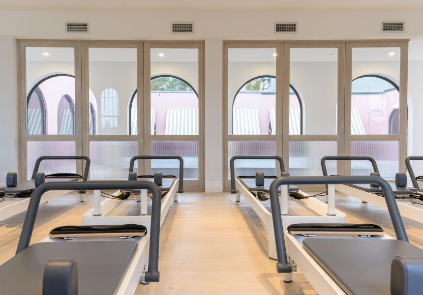Now open a dreamy pilates studio offering flexible