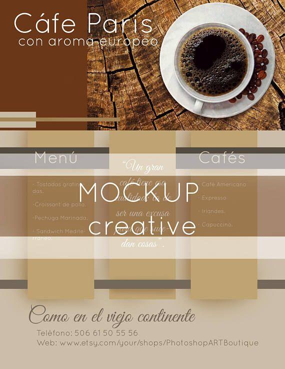 Mockup mug plantilla Photoshop. Maqueta diseño. Creative mockup pack ...
