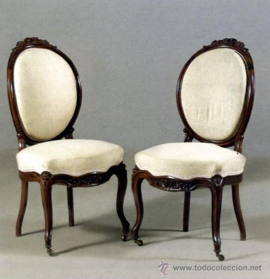 muebles siglo XIX  Buscar con Google  s XIX  Sillas