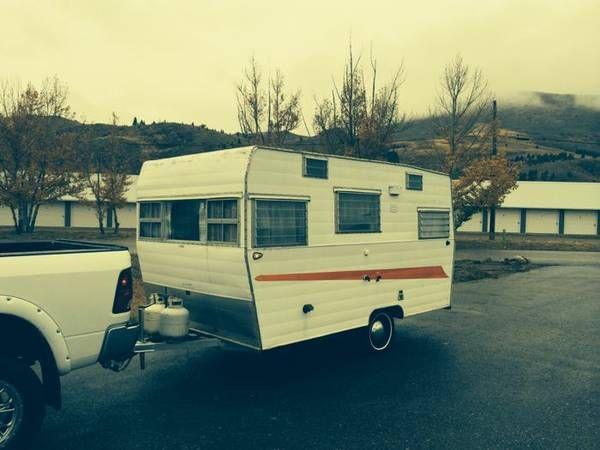 Vintage super clean 1966 shasta 16ft   Vintage camper ...